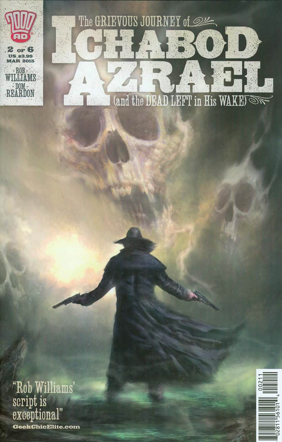 Grievous Journey Of Ichabod Azrael #2 Cover A Regular Nick Percival Cover