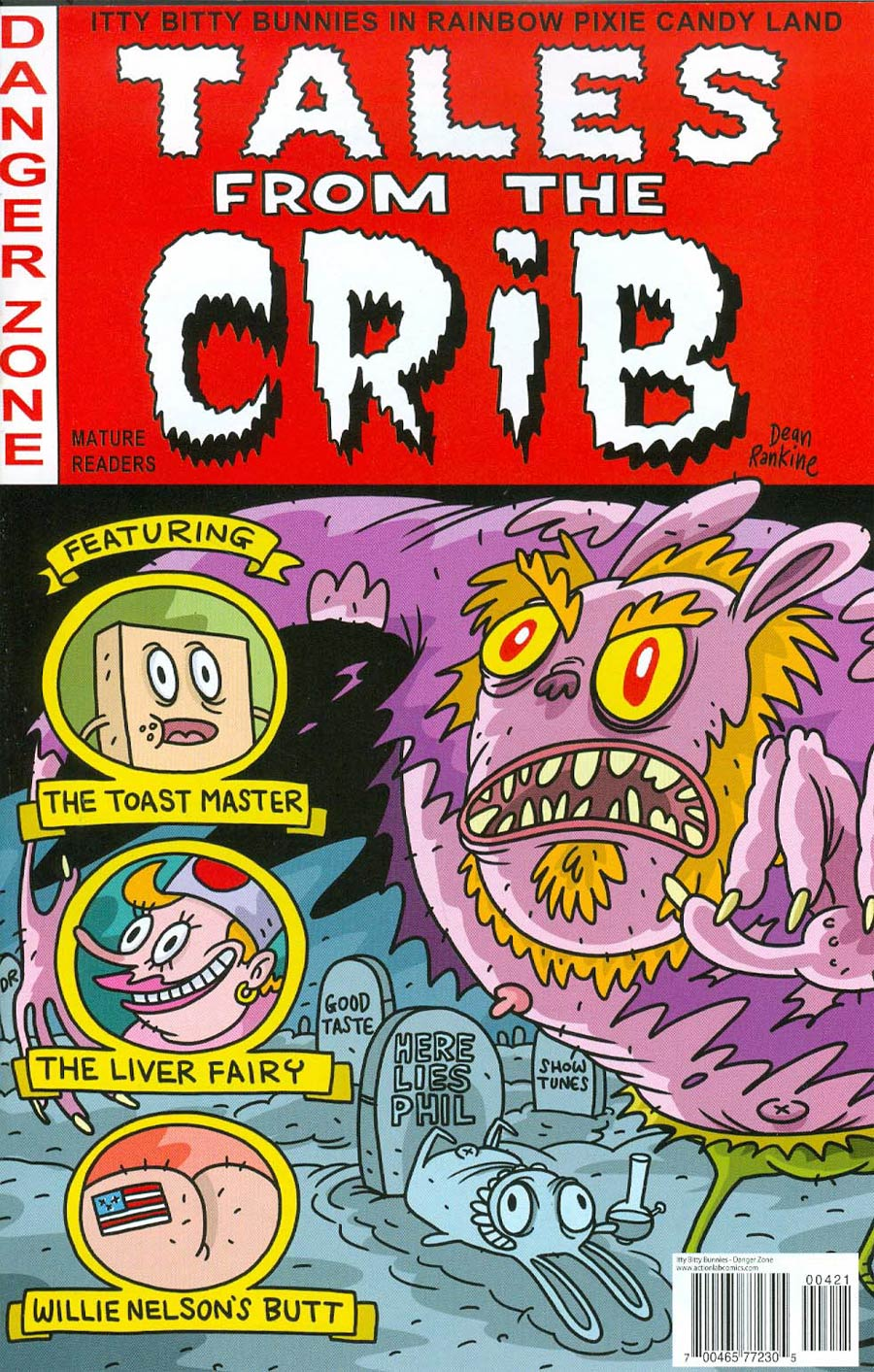 Itty Bitty Bunnies Tales From The Crib #1 Cover B Variant Tales From The Crypt Homage Cover