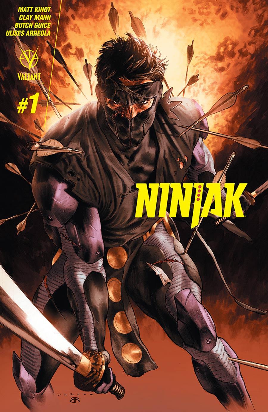 Ninjak Vol 3 #1 Cover A 1st Ptg Regular Lewis LaRosa Cover