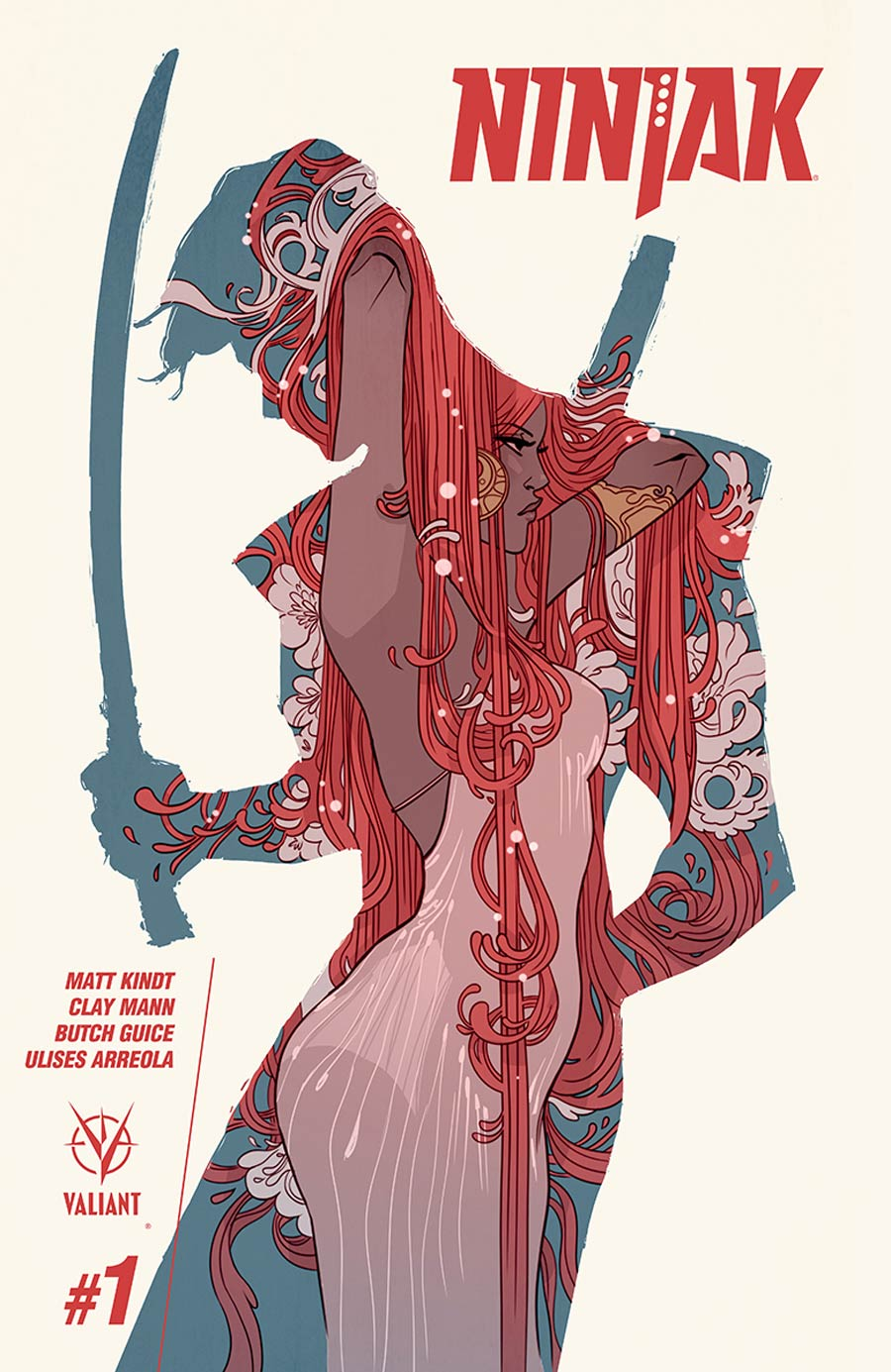 Ninjak Vol 3 #1 Cover D Variant Marguerite Sauvage Cover