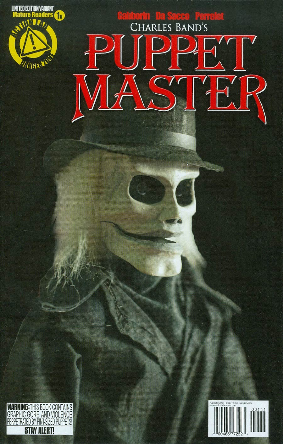 Puppet Master #1 Cover B Variant Blade Photo Cover