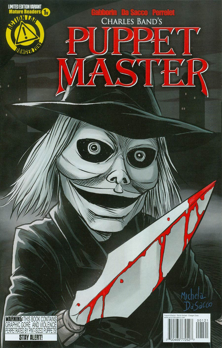 Puppet Master #1 Cover D Variant Blade Color Cover