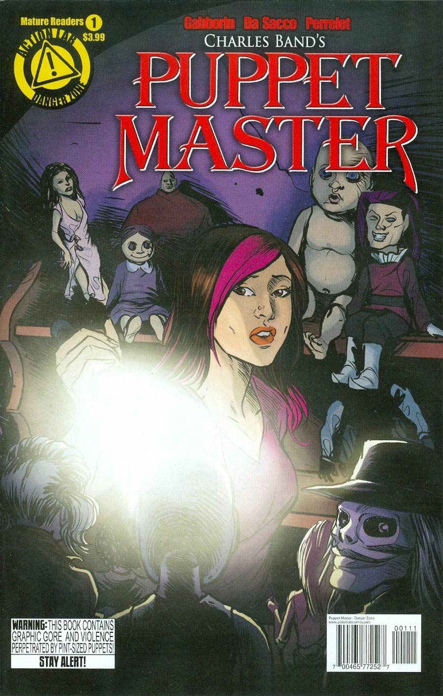 Puppet Master #1 Cover A Regular Michela Da Sacco Cover
