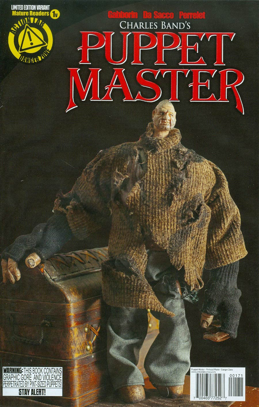 Puppet Master #1 Cover C Variant Pinhead Photo Cover