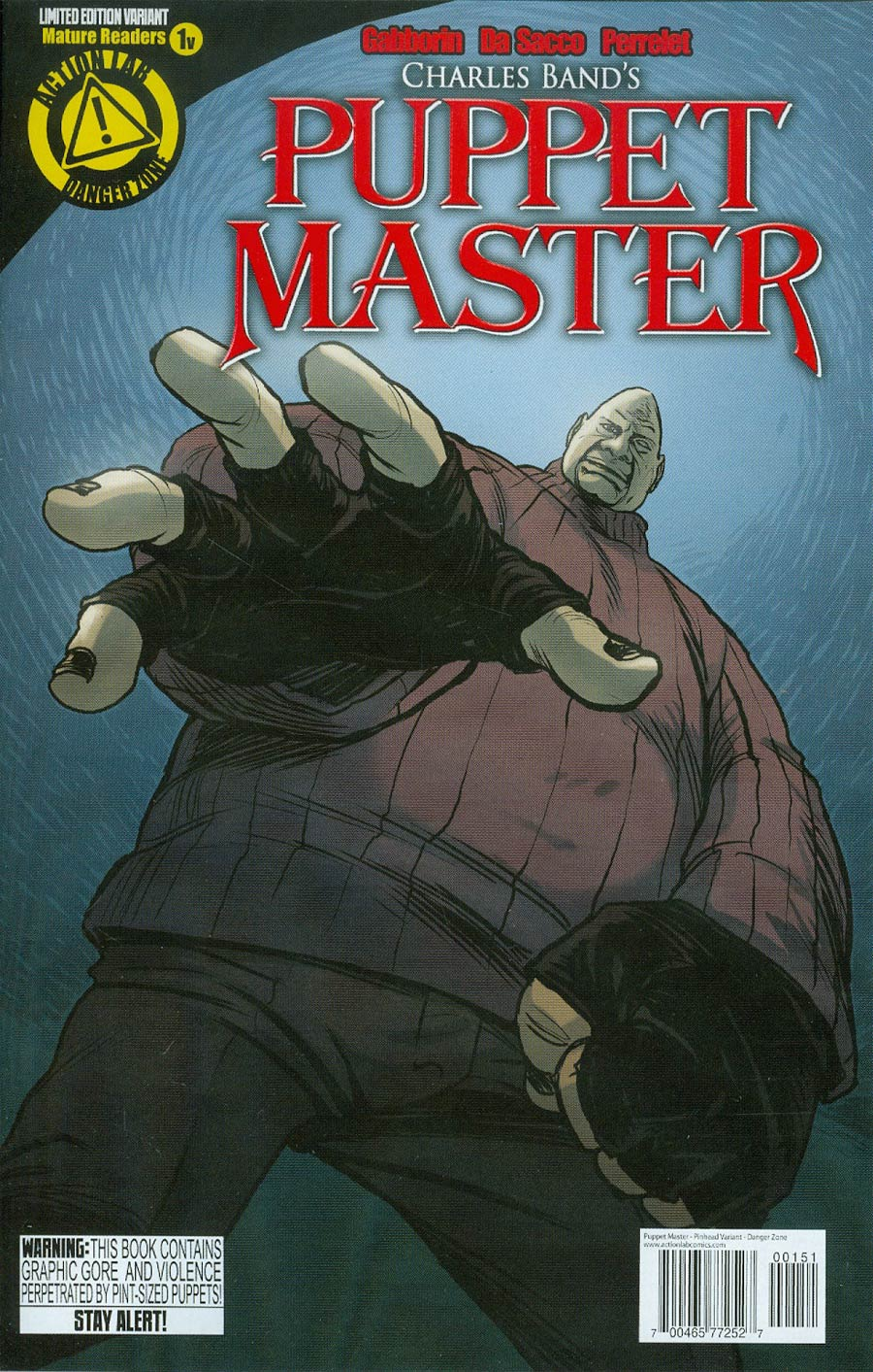 Puppet Master #1 Cover F Variant Pinhead Color Cover
