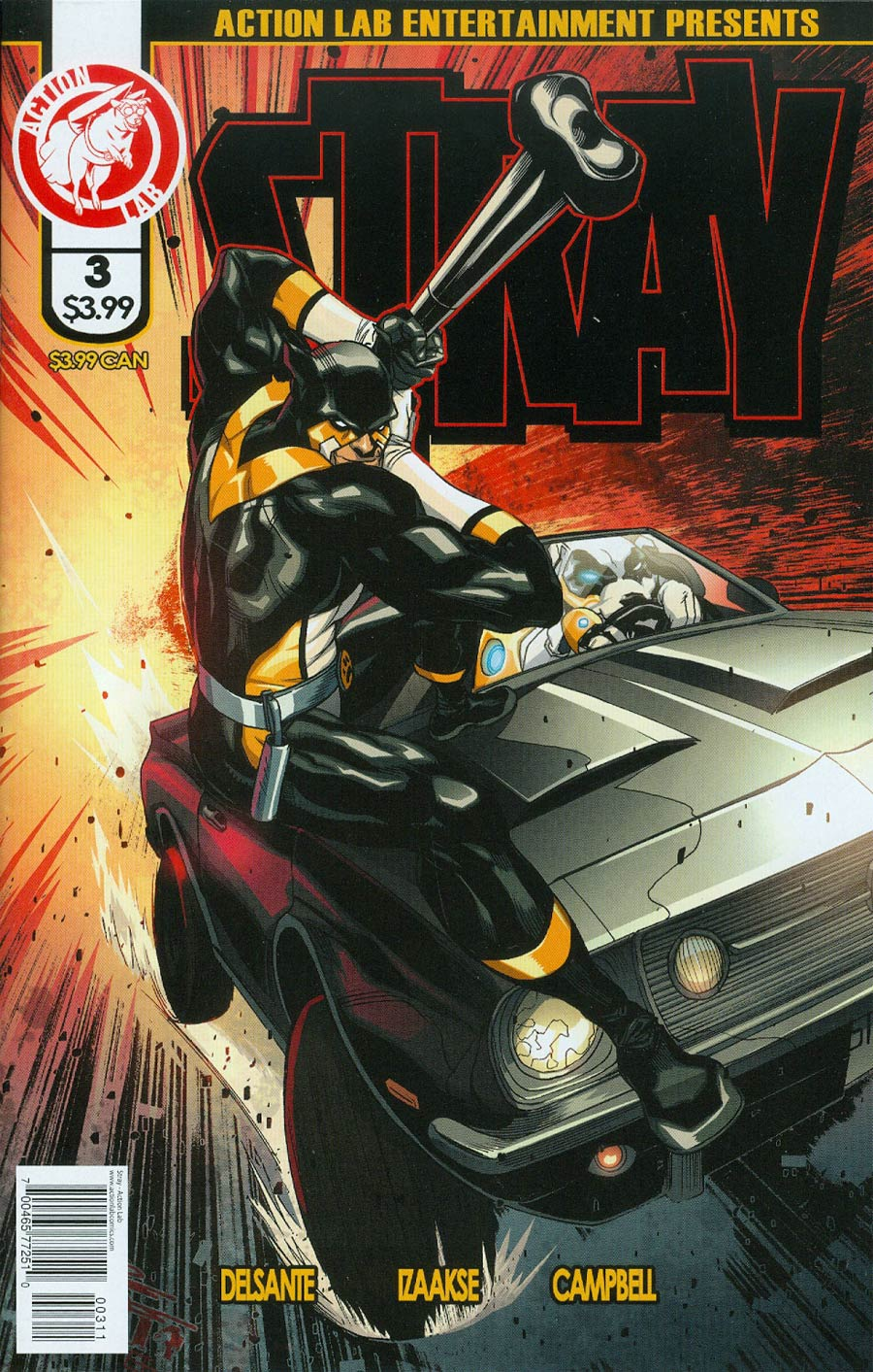 Stray #3 Cover A Regular ChrisCross Cover