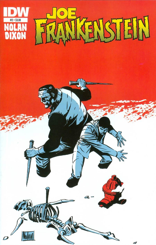 Joe Frankenstein #2 Cover A Regular Graham Nolan Cover