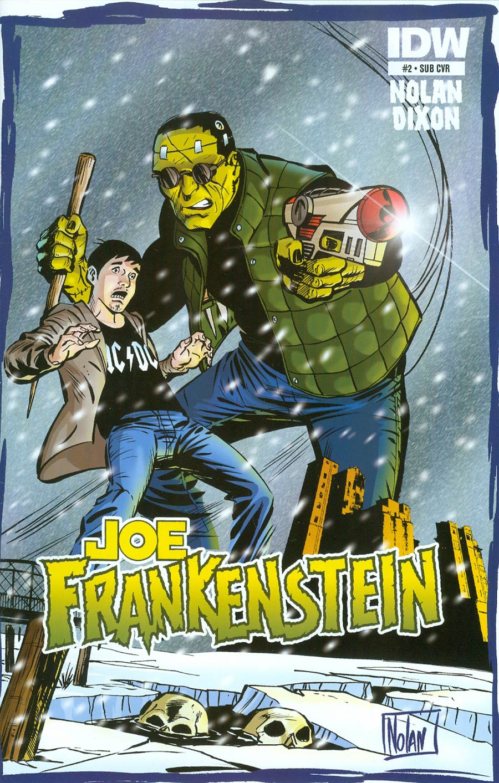 Joe Frankenstein #2 Cover B Variant Graham Nolan Subscription Cover