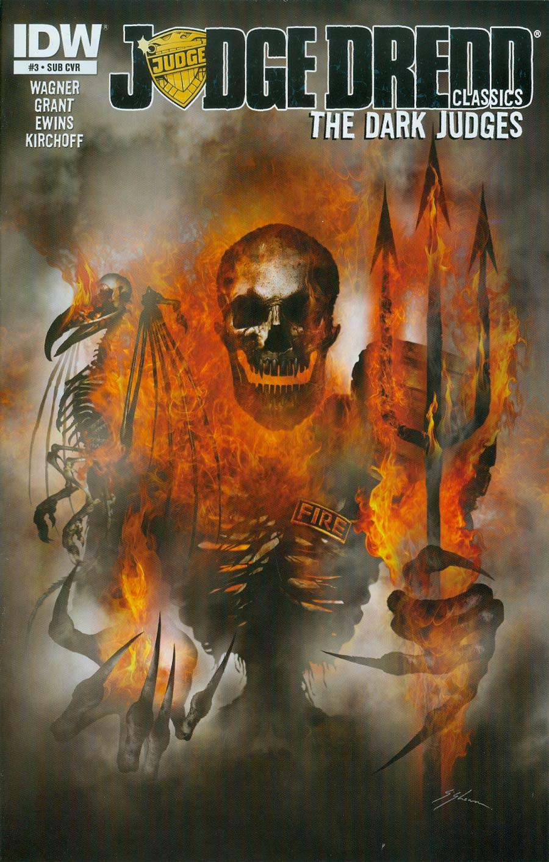 Judge Dredd Classics Dark Judges #3 Cover B Variant Sam Mister-Sam Shearon Subscription Cover