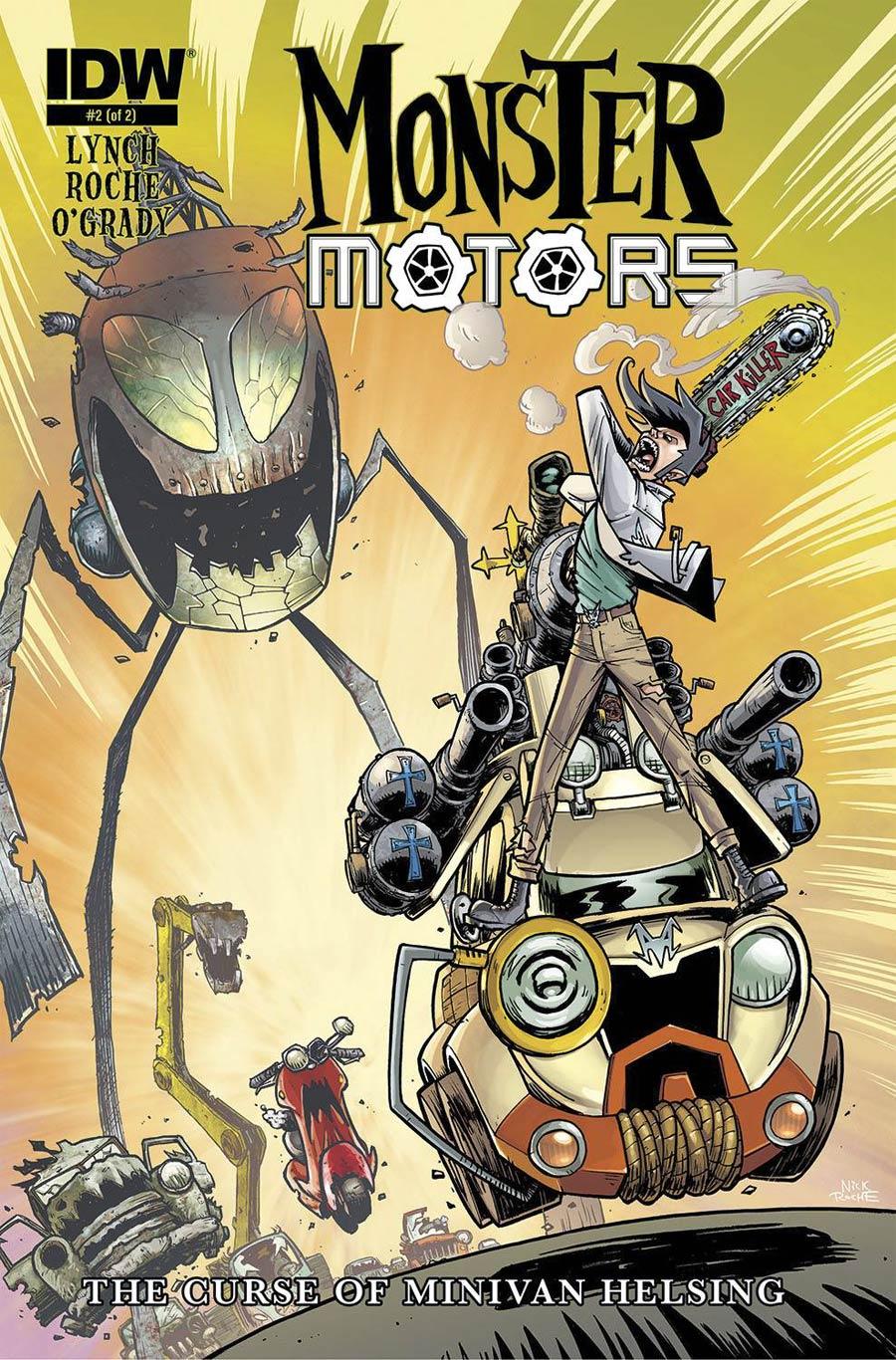 Monster Motors Curse Of Minivan Helsing #2