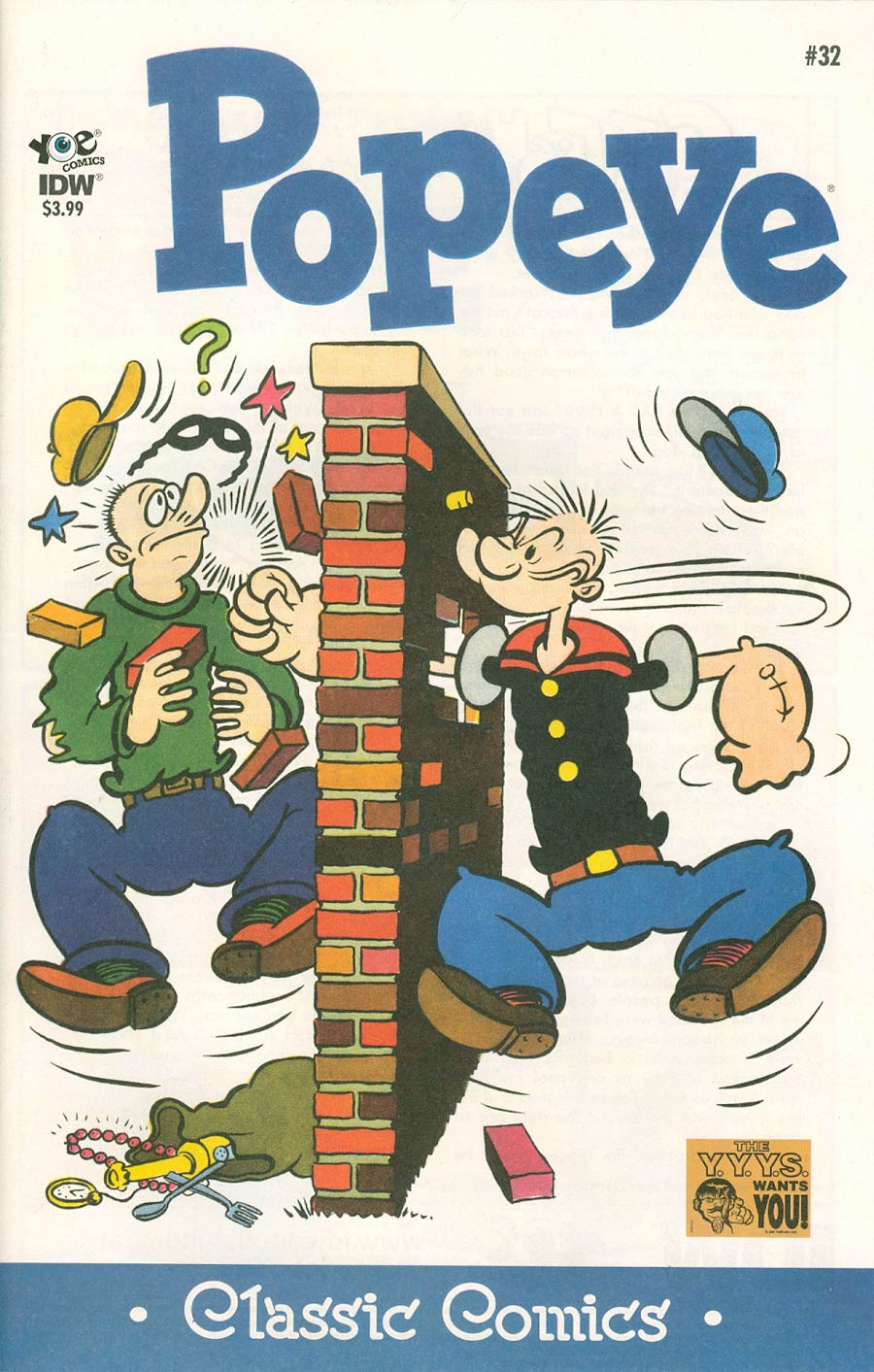 Classic Popeye #32 Cover A Regular Bud Sagendorf Cover