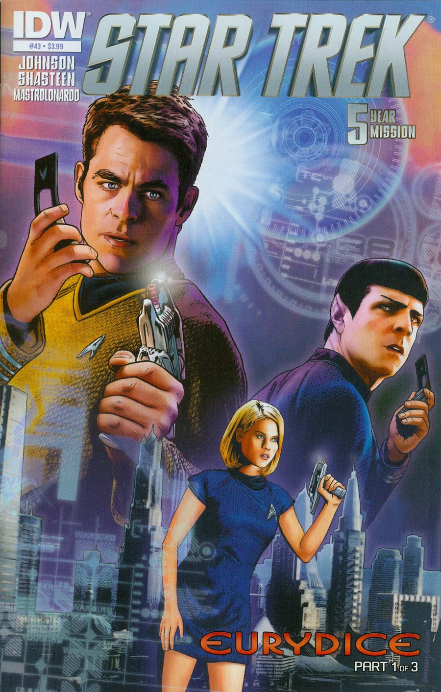 Star Trek (IDW) #43 Cover A Regular Joe Corroney Cover