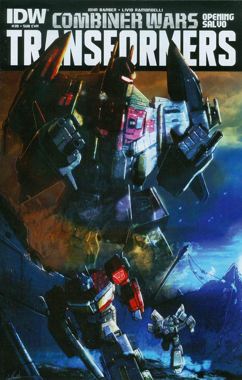 Transformers Vol 3 #39 Cover B Variant Livio Ramondelli Subscription Cover (Combiner Wars Opening Salvo)