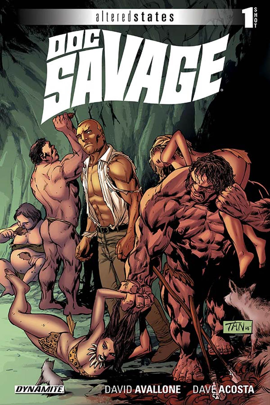 Altered States Doc Savage One Shot Cover A Regular Billy Tan Cover