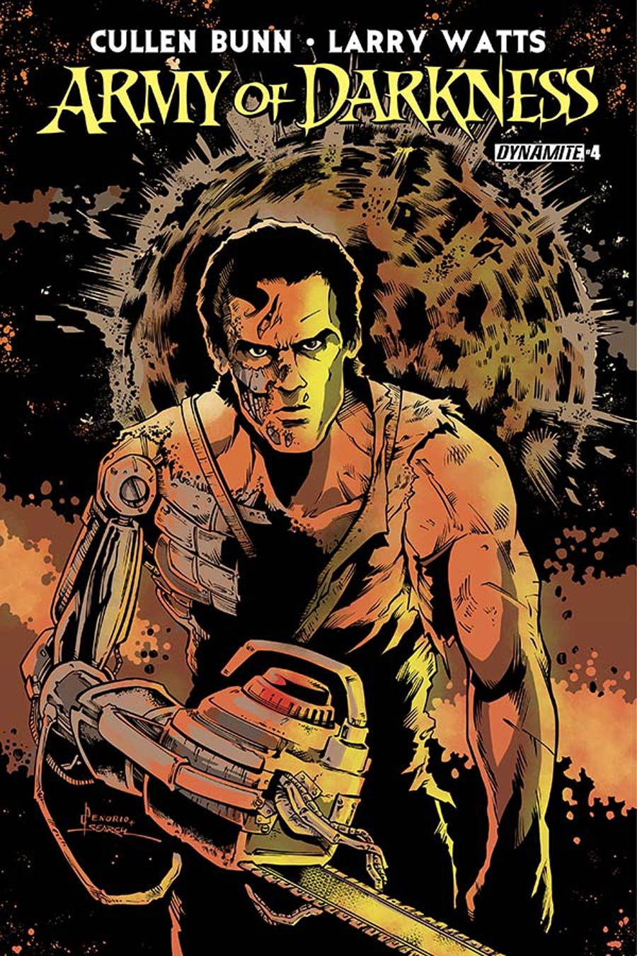 Army Of Darkness Vol 4 #4 Cover C Variant Nacho Tenorio Subscription Cover