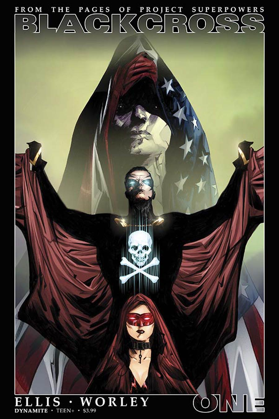 Project Superpowers Blackcross #1 Cover A Regular Jae Lee Cover