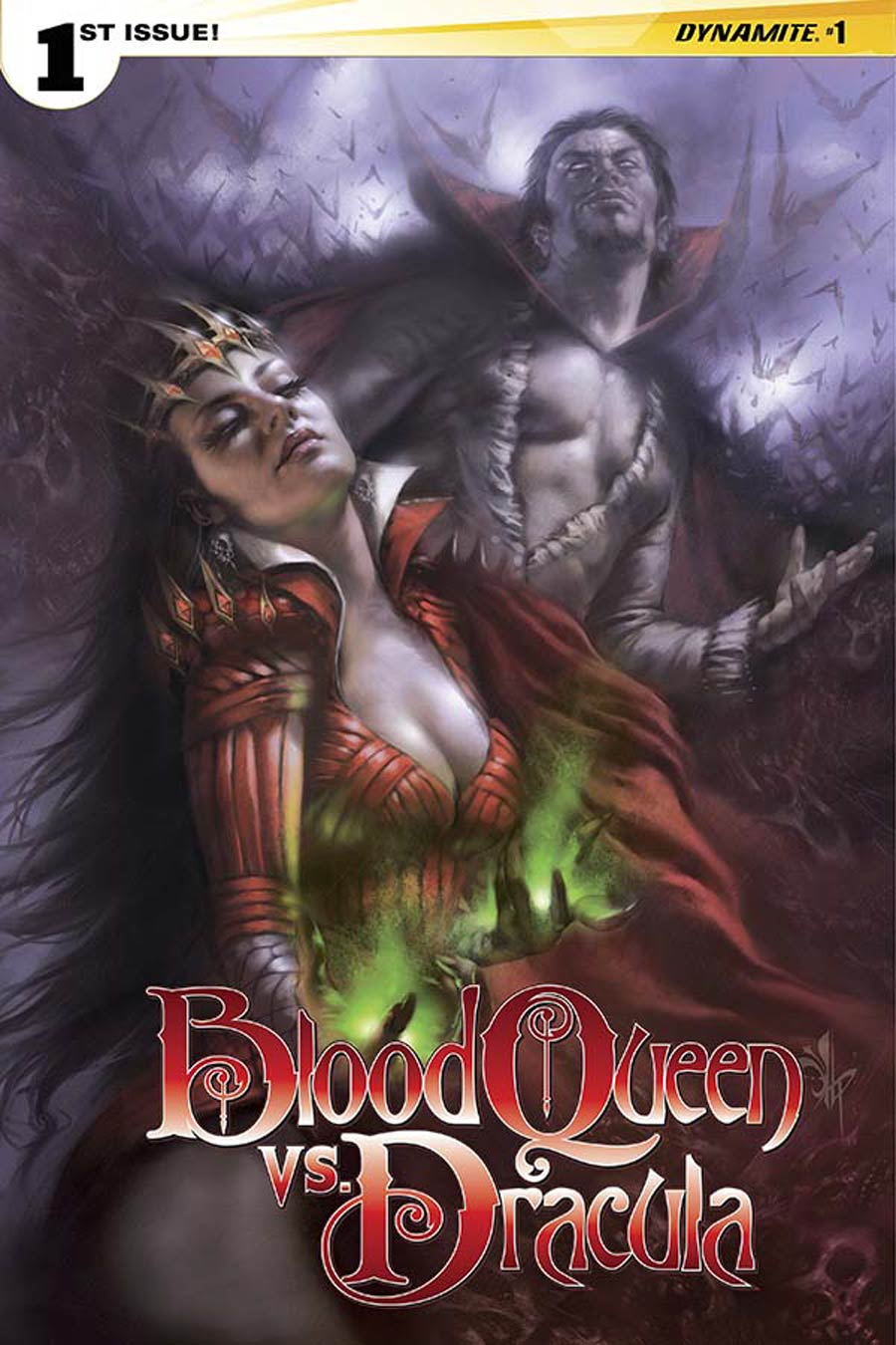 Blood Queen vs Dracula #1 Cover D Variant Lucio Parrillo Subscription Cover