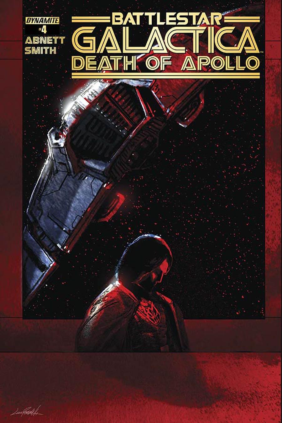 Battlestar Galactica Death Of Apollo #4 Cover C Variant Livio Ramondelli Cover