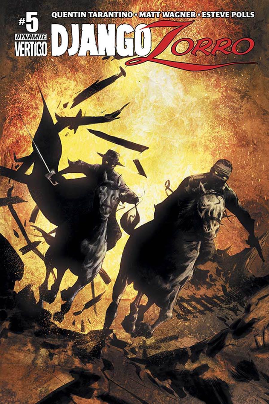 Django Zorro #5 Cover A Regular Jae Lee Cover
