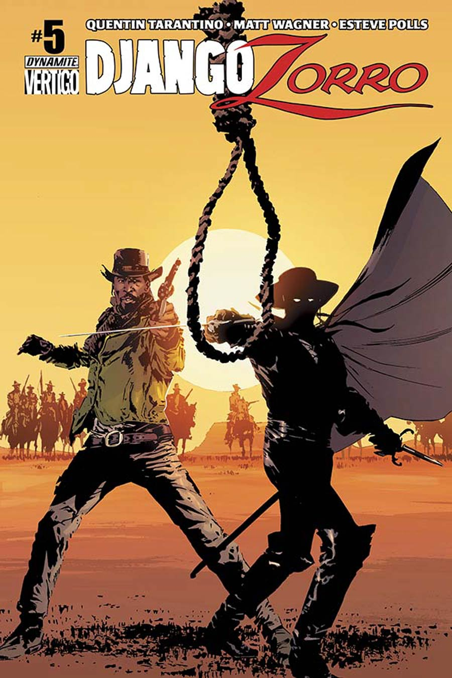 Django Zorro #5 Cover C Variant Butch Guice Subscription Cover
