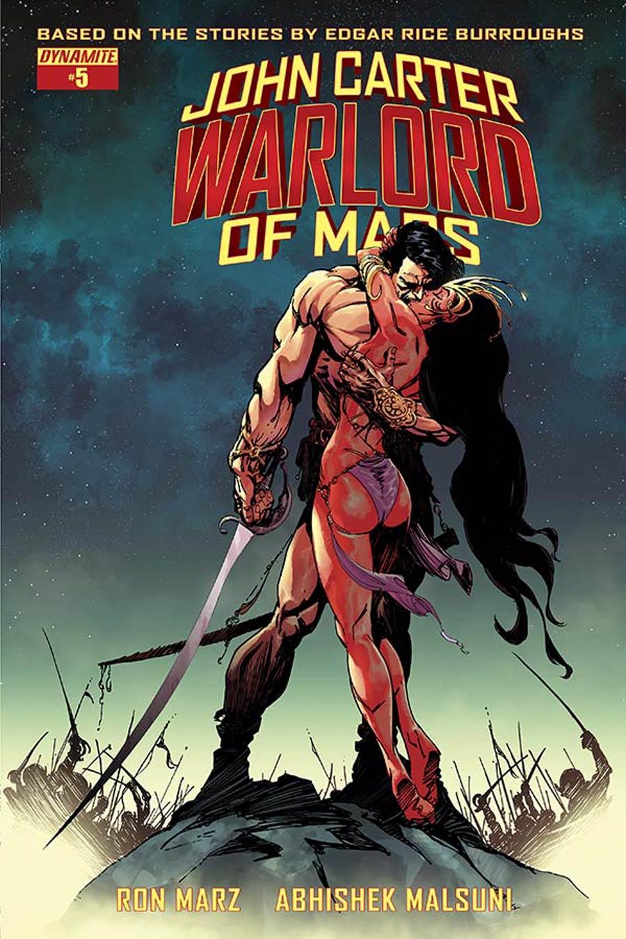 John Carter Warlord Of Mars Vol 2 #5 Cover B Variant Bart Sears Cover