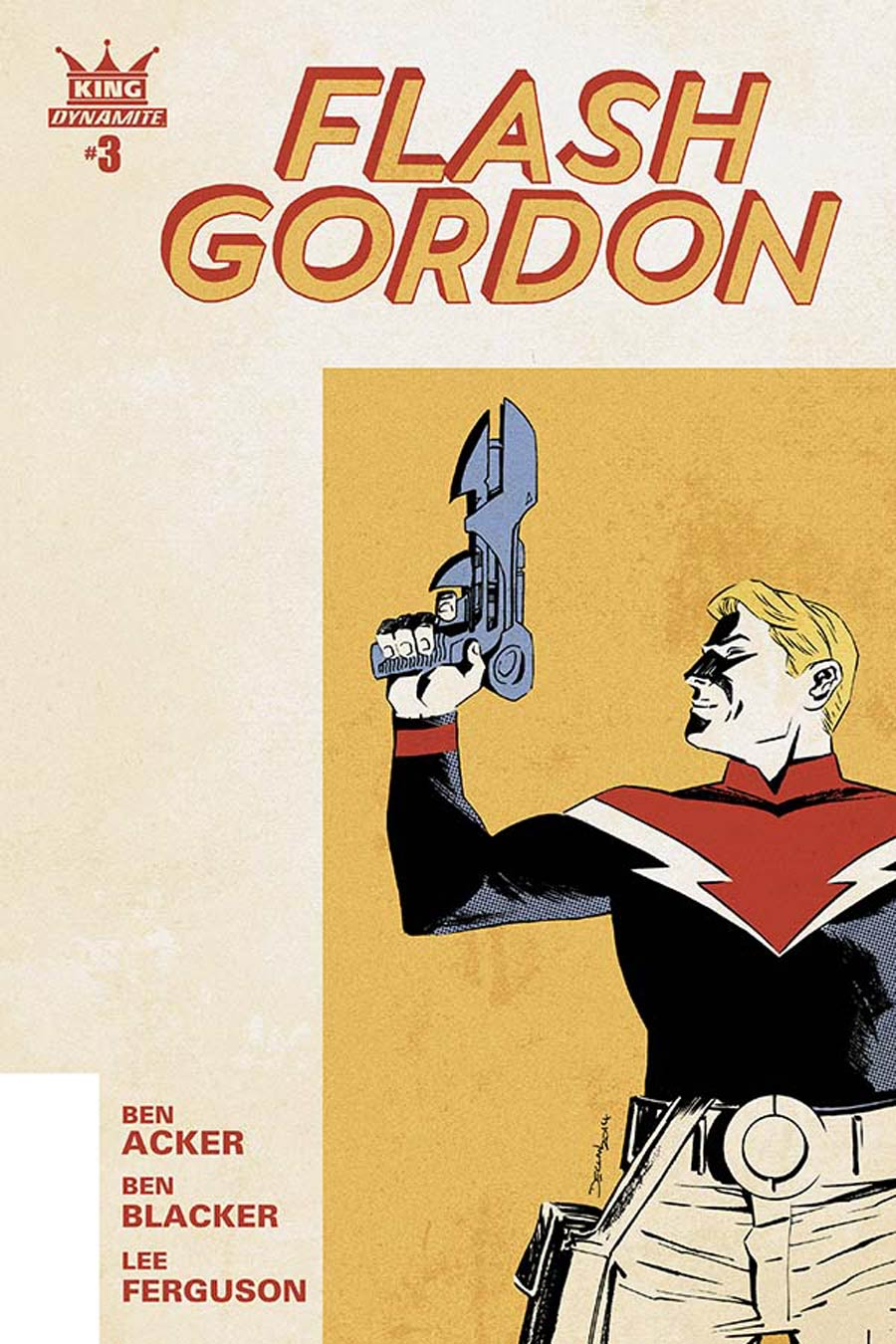 King Flash Gordon #3 Cover A Regular Declan Shalvey Cover