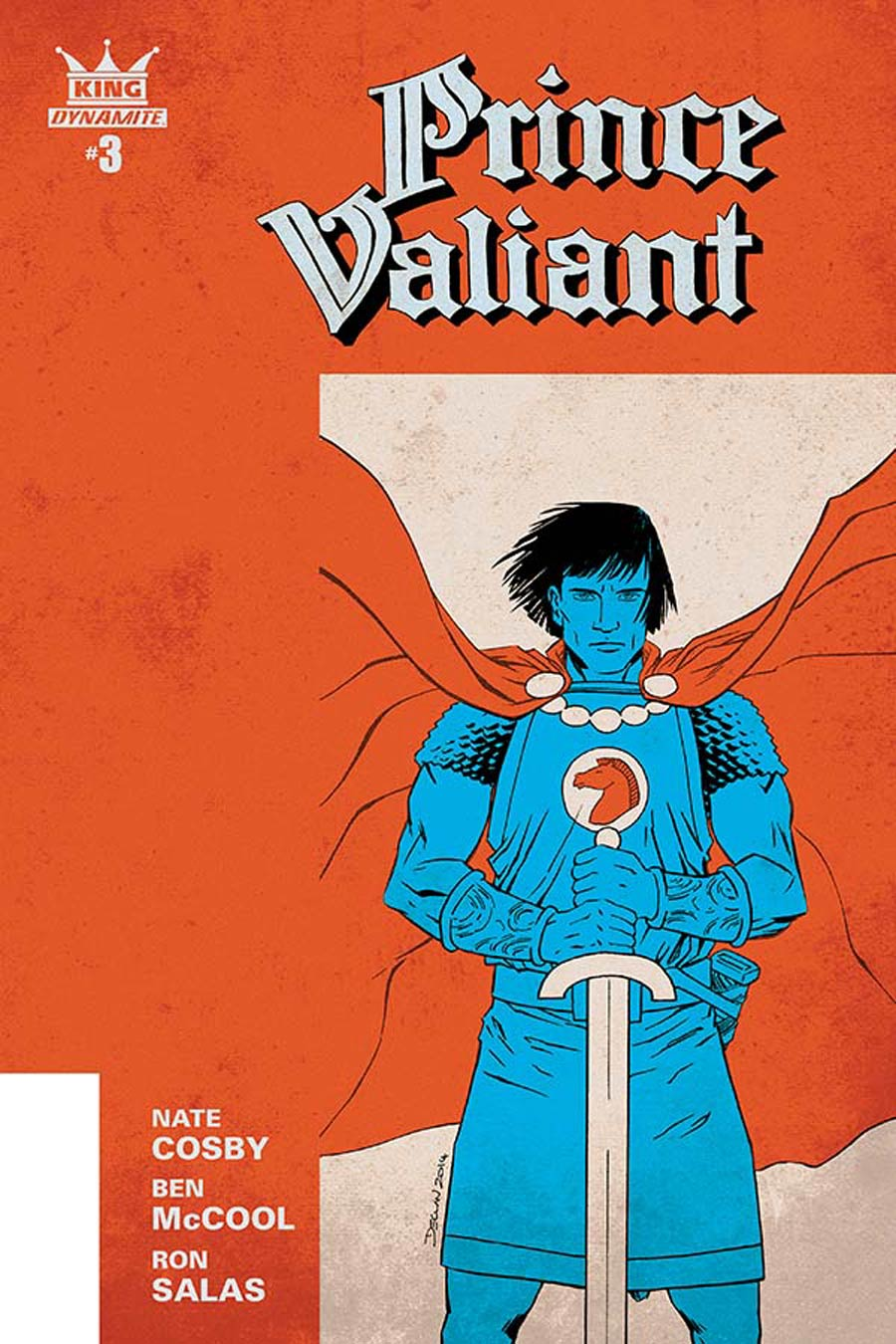 King Prince Valiant #3 Cover A Regular Declan Shalvey Cover