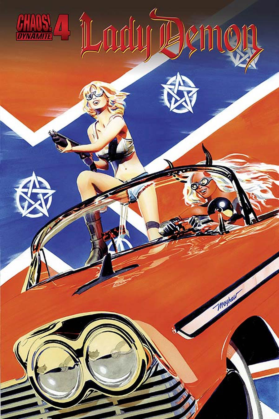 Lady Demon Vol 2 #4 Cover C Variant Mike Mayhew Subscription Cover
