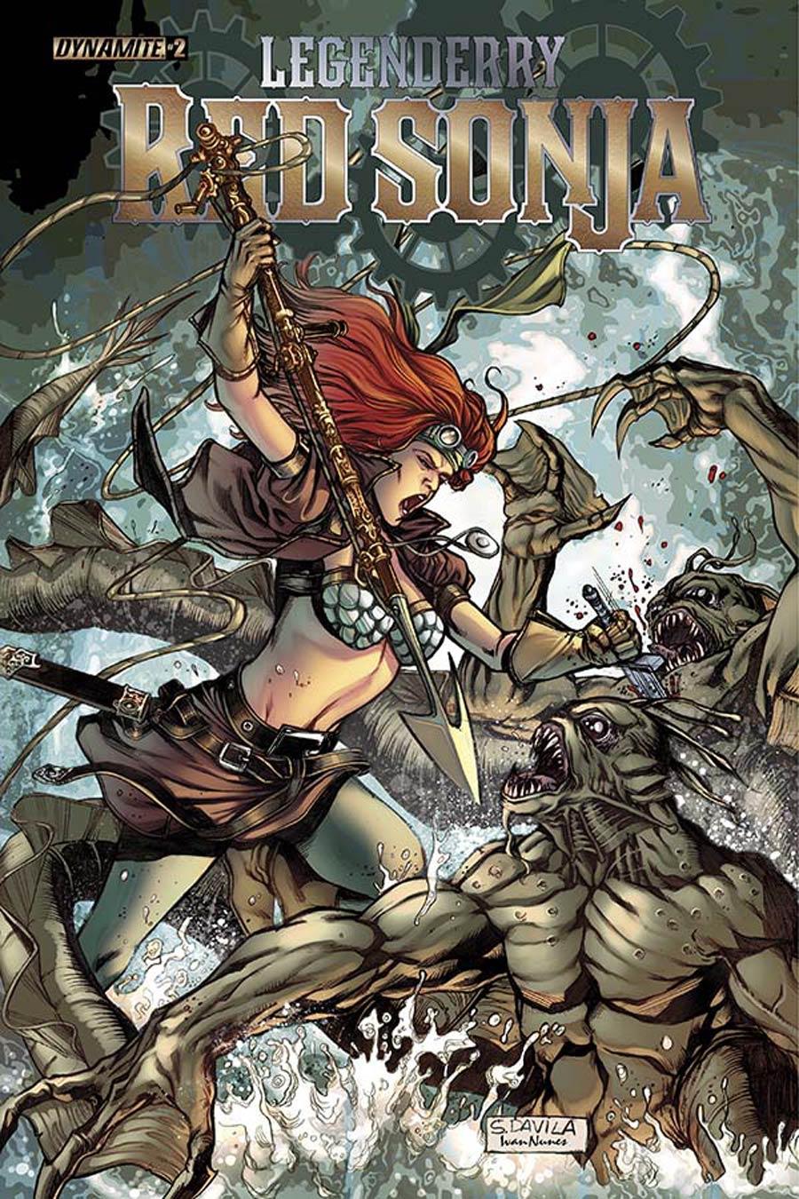 Legenderry Red Sonja #2 Cover A Regular Sergio Fernandez Davila Cover