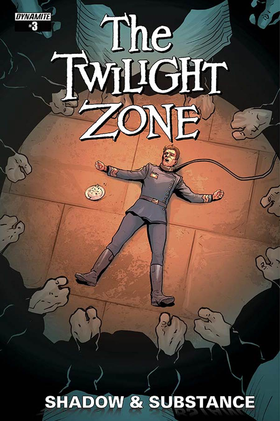 Twilight Zone Shadow & Substance #3 Cover A Regular Guiu Vilanova Cover