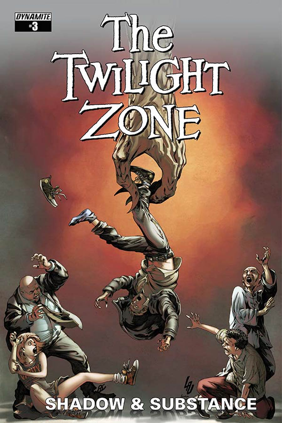 Twilight Zone Shadow & Substance #3 Cover C Variant Jonathan Lau Subscription Cover