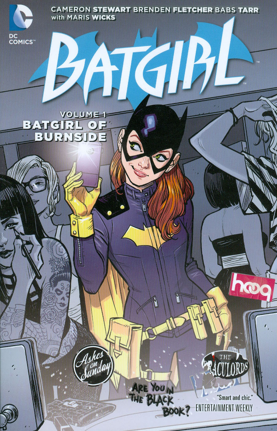 Batgirl (New 52) Vol 1 Batgirl Of Burnside HC