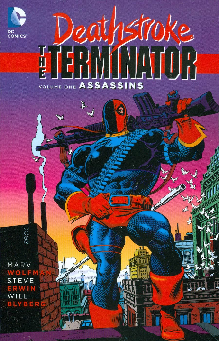 Deathstroke The Terminator Vol 1 Assassins TP