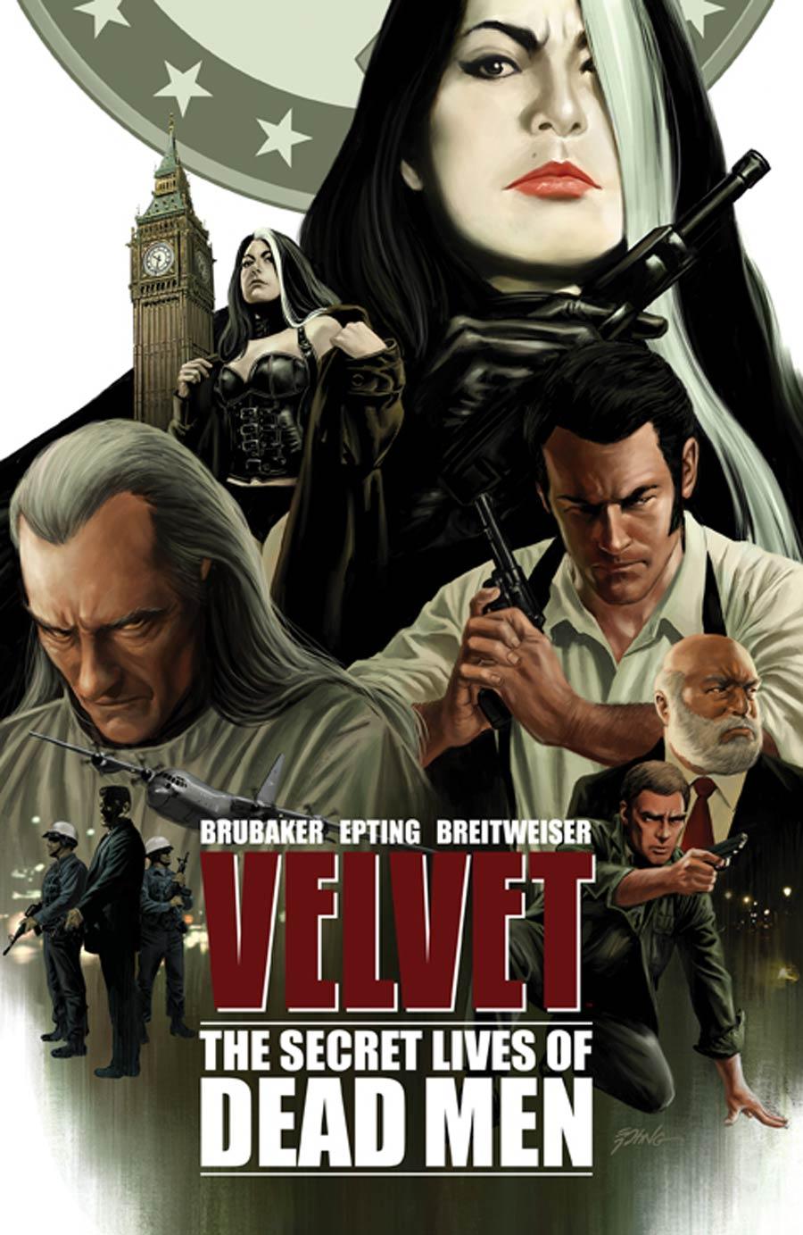 Velvet Vol 2 The Secret Lives Of Dead Men TP