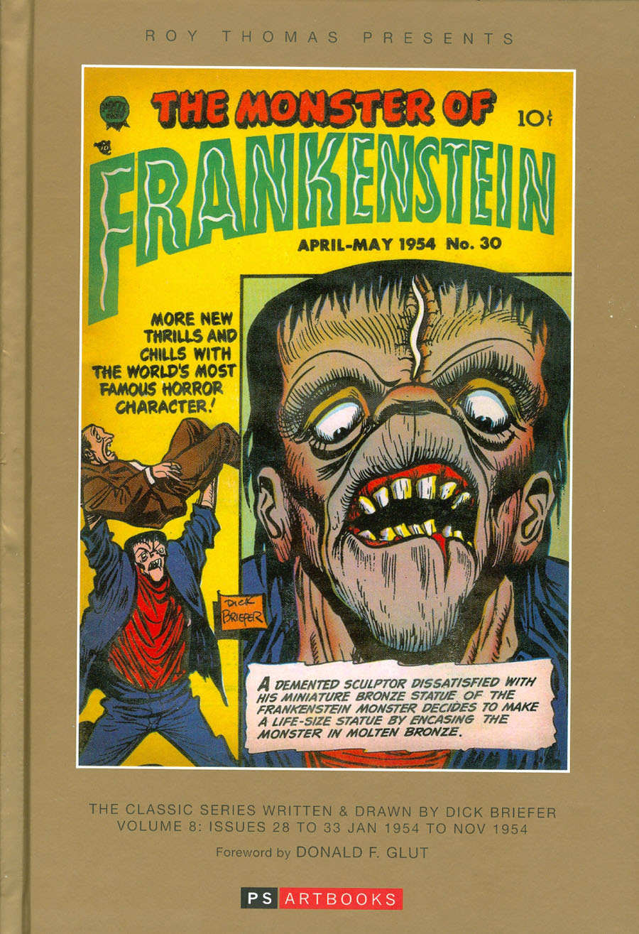 Roy Thomas Presents Dick Briefers Frankenstein Vol 8 1954 HC