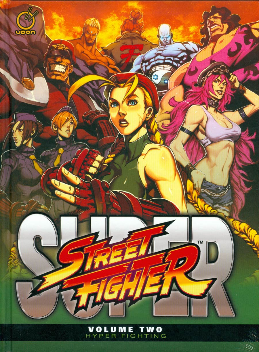 Super Street Fighter Vol 2 Hyper Fighting HC