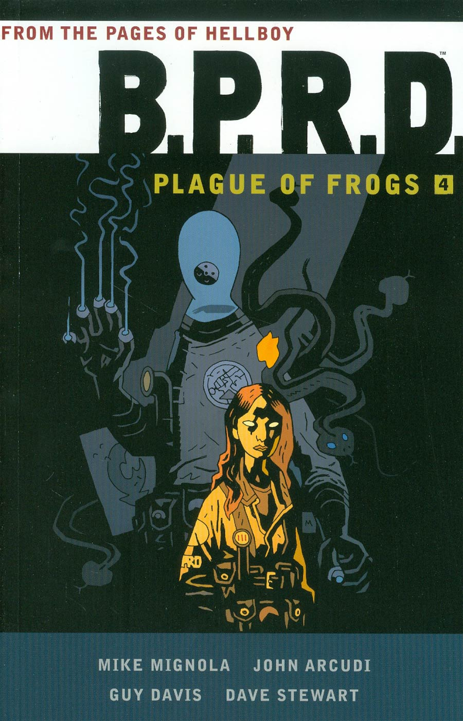 BPRD Plague Of Frogs Vol 4 TP