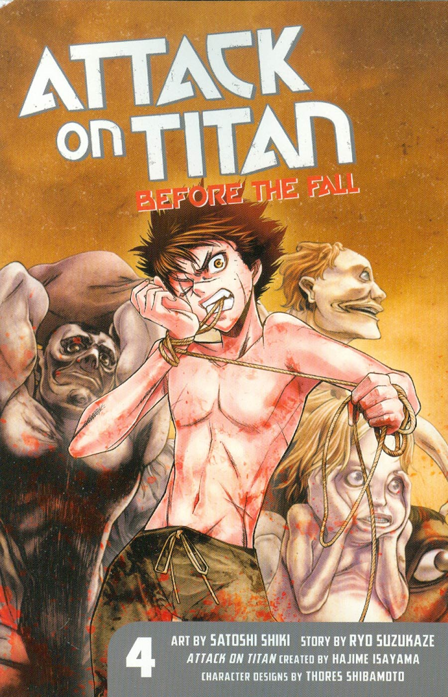 Attack On Titan Before The Fall Vol 4 GN