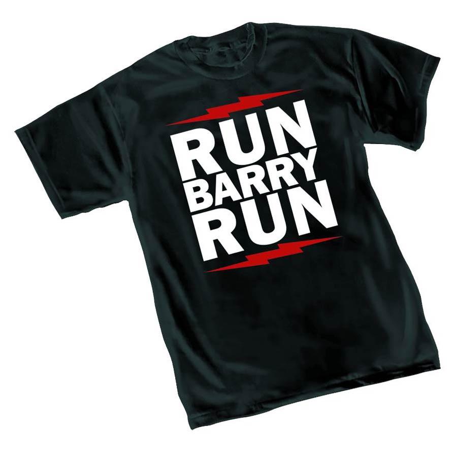 Flash Run Barry Run T-Shirt Large