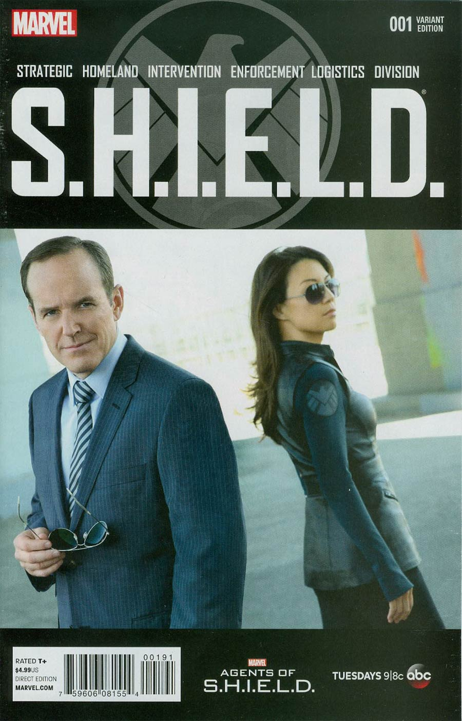 S.H.I.E.L.D. Vol 4 #1 Cover K Incentive Marvels Agents Of S.H.I.E.L.D. Photo Variant Cover