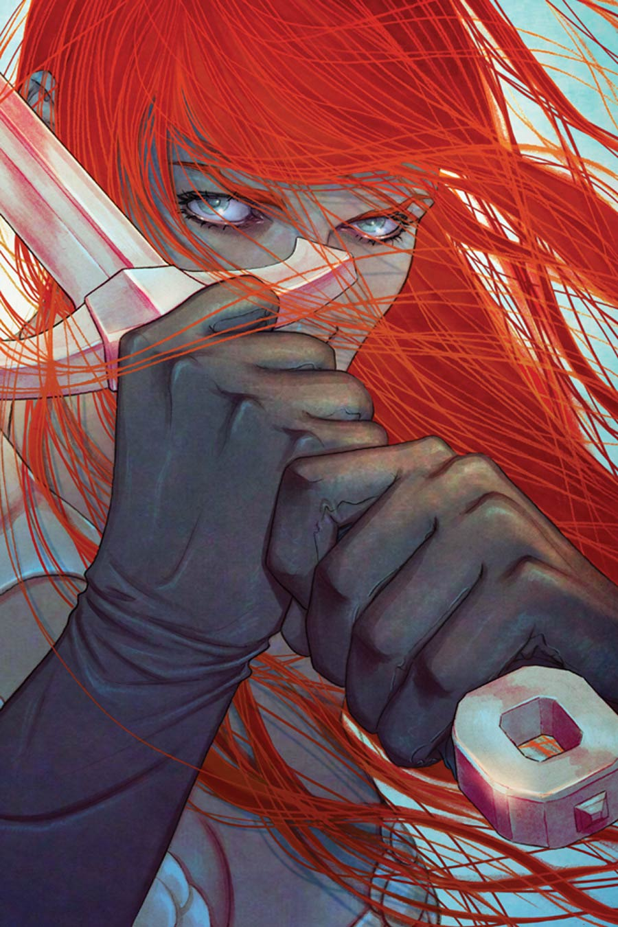 Red Sonja Vol 5 #12 Cover F High-End Jenny Frison Virgin Art Ultra-Limited Variant Cover (ONLY 50 COPIES IN EXISTENCE!)