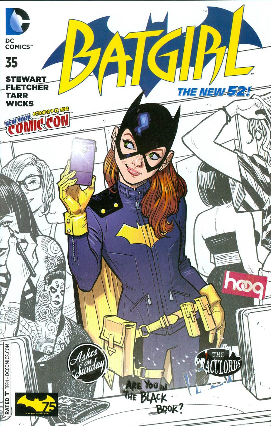 Batgirl Vol 4 #35 Cover E NYCC 2014 Exclusive Cameron Stewart Variant Cover