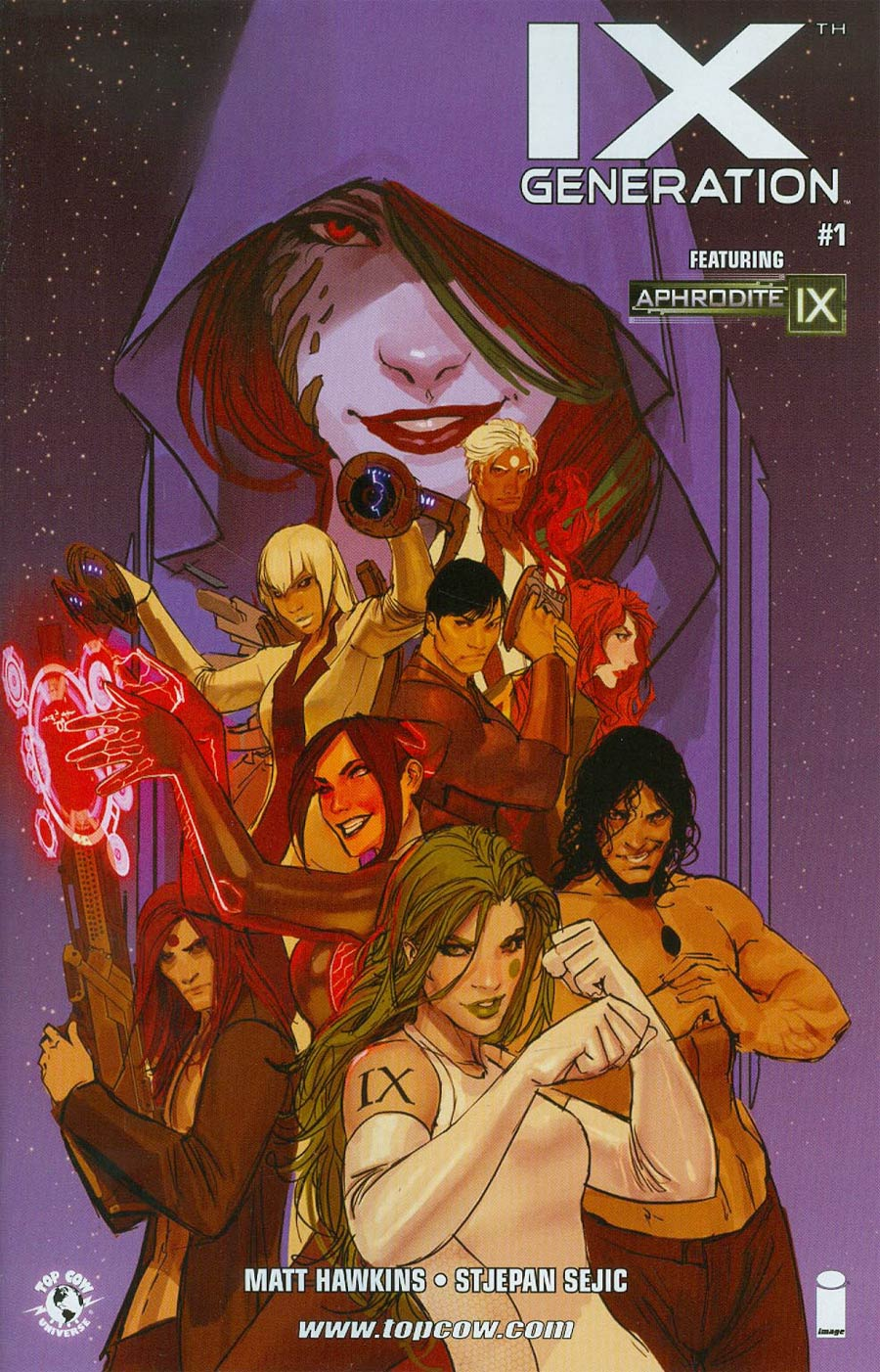 IXth Generation #1 Cover B Incentive Stjepan Sejic Variant Cover