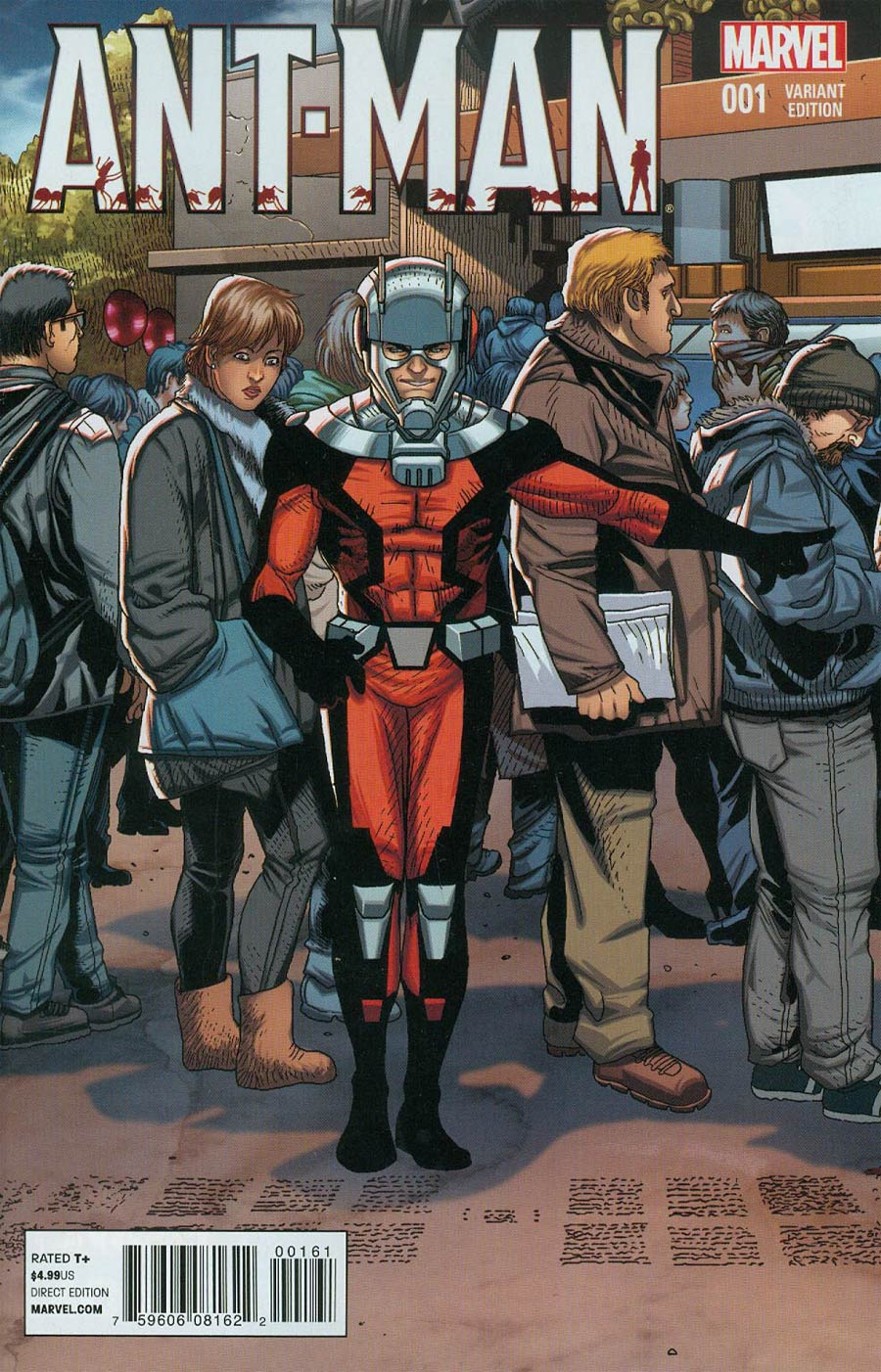 Ant-Man #1 Cover F Incentive Welcome Home Variant Cover