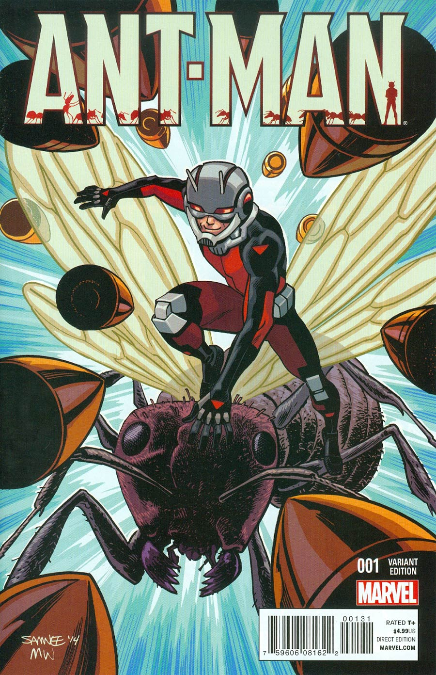 Ant-Man #1 Cover H Incentive Chris Samnee Variant Cover