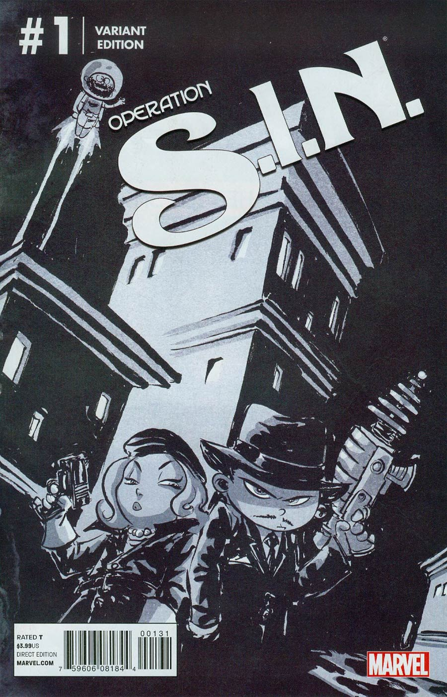 Operation S.I.N. #1 Cover B Variant Skottie Young Baby Cover