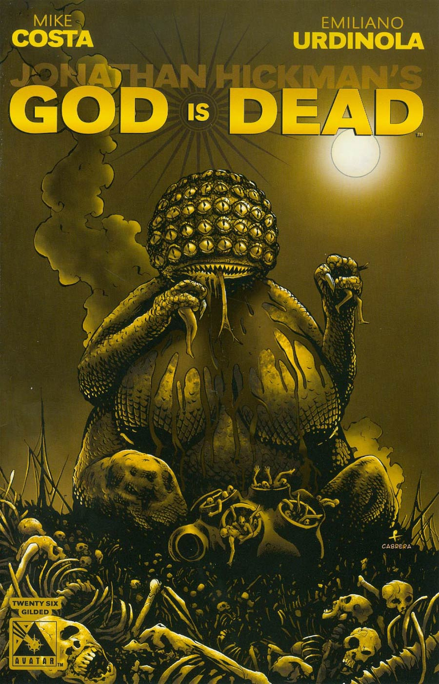 God Is Dead #26 Cover F Incentive Gilded Cover
