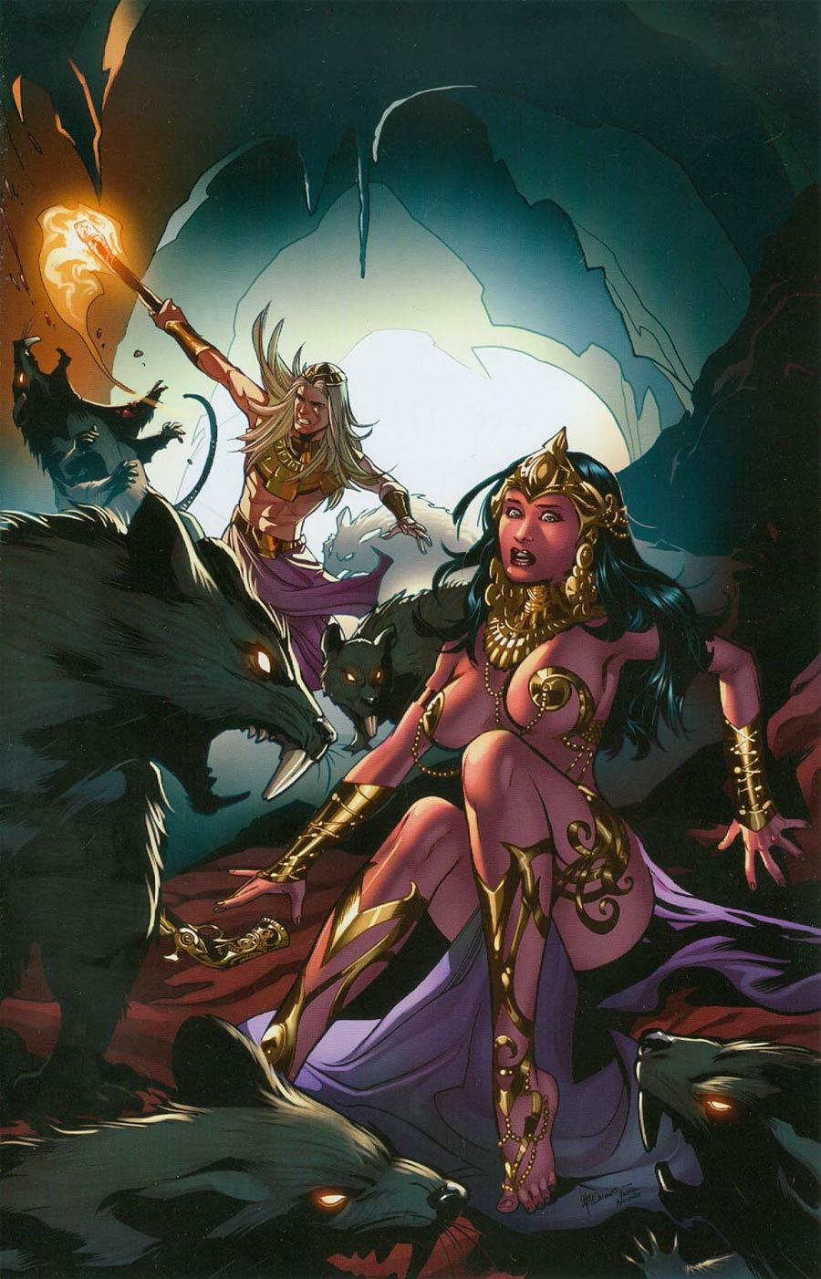 John Carter Warlord Of Mars Vol 2 #3 Cover G Incentive Emanuela Lupacchino Virgin Cover