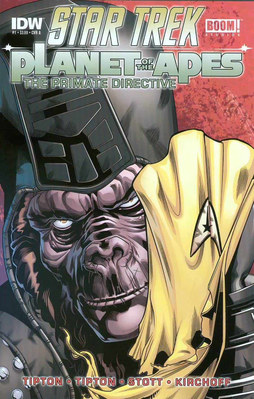 Star Trek Planet Of The Apes #1 Cover A 1st Ptg Regular Rachael Stott Cover