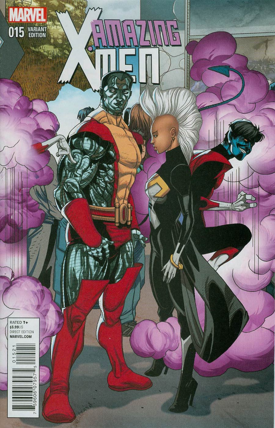 Amazing X-Men Vol 2 #15 Cover B Incentive Welcome Home Variant Cover